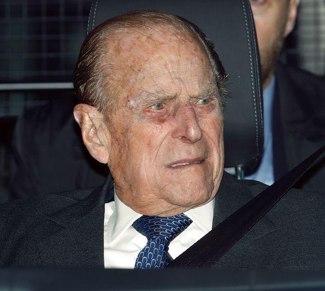 Książę Filip ostatnio spowodował wypadek