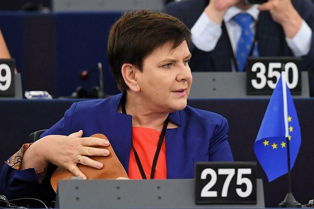 Beata Szydło w europarlamencie. 3 lipca 2019