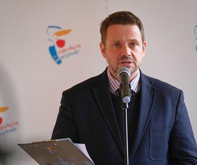 Warszawa. Rafał Trzaskowski jest przeziębiony