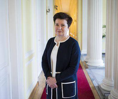 """Hanna Gronkiewicz- Waltz znów wystartuje w wyborach? """"Machlojki PiS mogą ją do tego zmusić"""""""