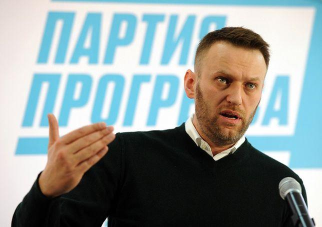 Rosyjski opozycjonista Aleksiej Nawalny już na wolności