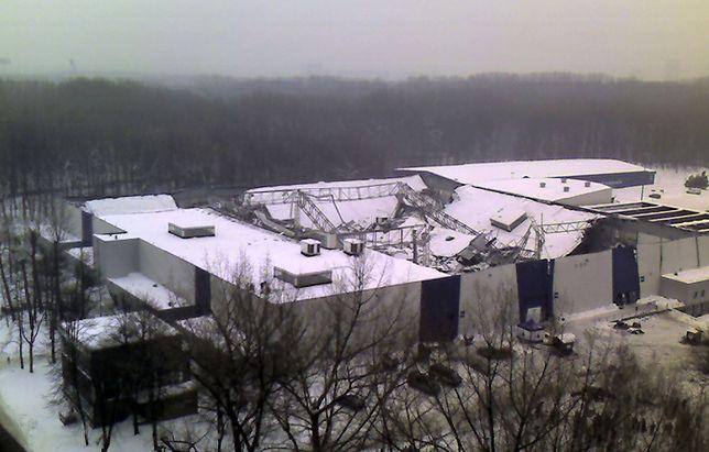 Hala MTK przy granicy Katowic i Chorzowa zawaliła się 28 stycznia 2006 r.