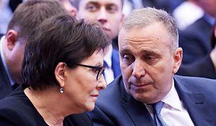 Liderzy PO oskarżają PiS o wywieranie presji na sąd