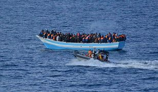 Na łodzi było 153 migrantów, w tym dzieci