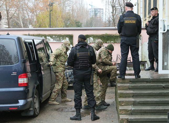 Konflikt Rosji z Ukrainą. Jest decyzja o areszcie dla marynarzy