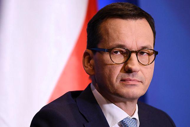 """Morawiecki o rozpoczęciu art. 7 wobec Polski. """"My dotrzymaliśmy słowa z nawiązką"""""""