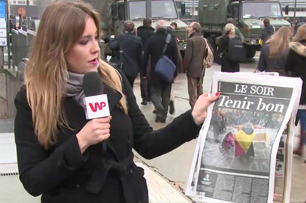 Dziennikarka WP w Brukseli: tragedia, dramat, horror, to słowa, których najczęściej używają mieszkańcy miasta