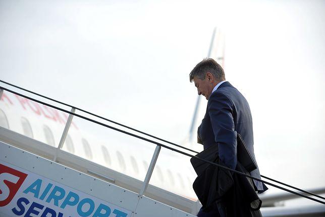 Kuchciński przeprosił w poniedziałek za wykorzystywanie rządowych samolotów do podróży z rodziną.