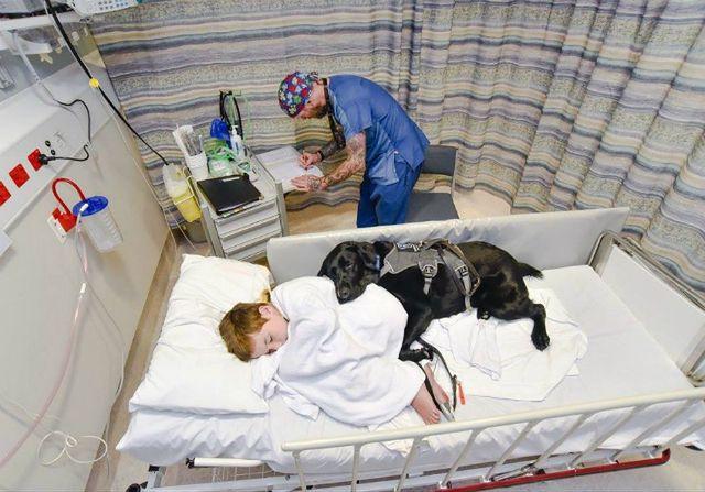 Niesamowita więź chłopca chorego na autyzm i jego psa