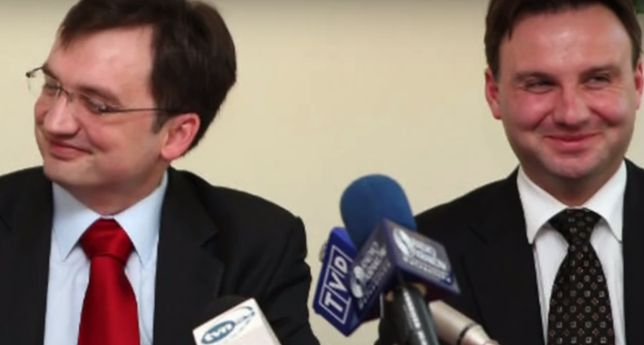 Andrzej Duda i Zbigniew Ziobro