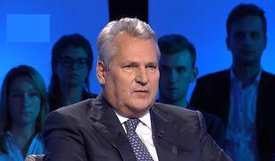 """Aleksander Kwaśniewski: Andrzej Duda to """"bezobjawowy"""" prezydent"""