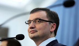 Zbigniew Ziobro mówił o zarzutach wobec warszawskich urzędników