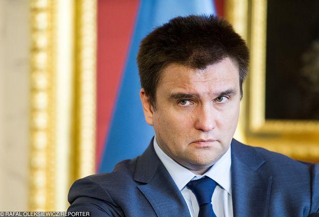 Pawło Klimkin potępił wszystkie zbrodnie wymierzone w Polskę i Ukrainę, podczas II WŚ