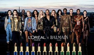 L'Oréal Paris X Balmain prezentują limitowaną kolekcję 10 szminek Color Riche