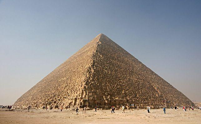 Wielka Piramida w Gizie, Egipt