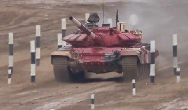 Fragment finału biathlonu czołgów