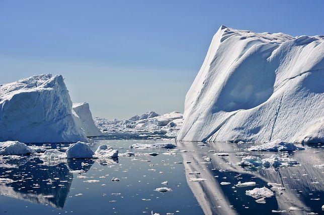 Poziom lodu na Antarktydzie dynamicznie się zmienia.