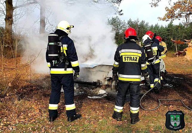 Strażacy, którzy przyjechali by ugasić pożar dokonali makabrycznego odkrycia