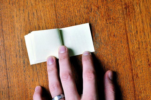 Pierwszy papier produkowany był z konopii