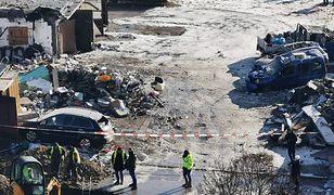Śląskie. Potężny wybuch w Sosnowcu. Zniszczone auta. Ewakuacja blisko 400 osób