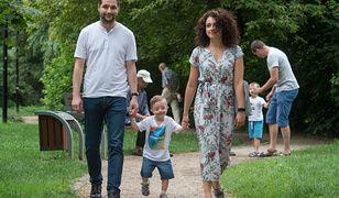 Patryk Jaki z żoną Anną mają dwoje dzieci: Radka i Olę