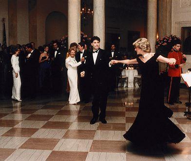 John Travolta i księżna Diana