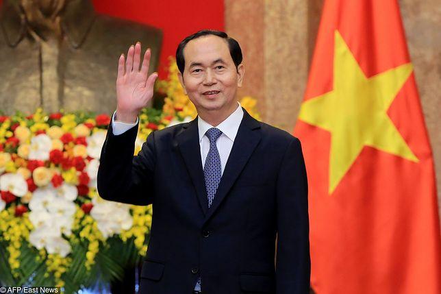 Nie żyje prezydent Wietnamu. Miał 61 lat