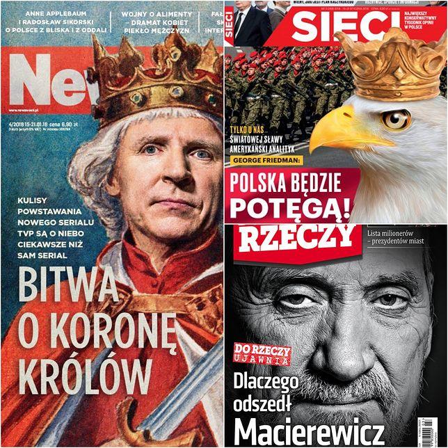 Rekonstrukcja rządu zdominowała okładki tygodników. O czym jeszcze przeczytamy w poniedziałek?