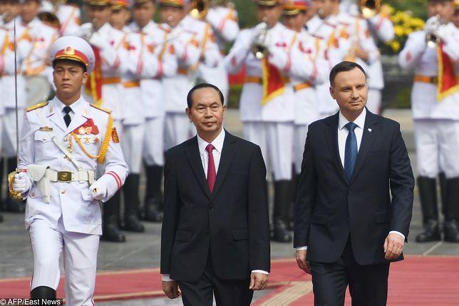Prezydent Andrzej Duda w Wietnamie. Byliśmy na miejscu