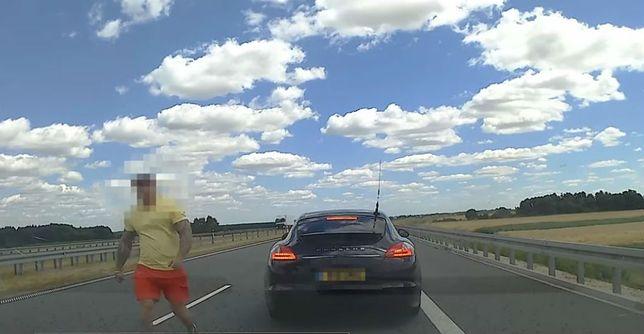 Kierowca nagrał wszystko kamerką samochodową