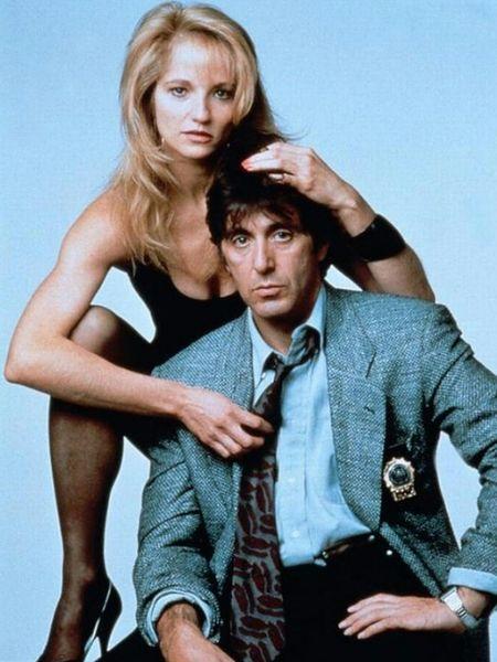 """Ellen Barkin i Al Pacino w filmie """"Morze miłości"""" (1989)"""