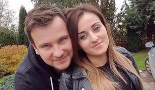 Anna i Grzegorz Bardowscy na proteście rolników