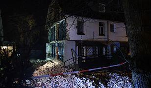 Eksplozja w Juszkowie. Zawaliła się ściana szczytowa domu