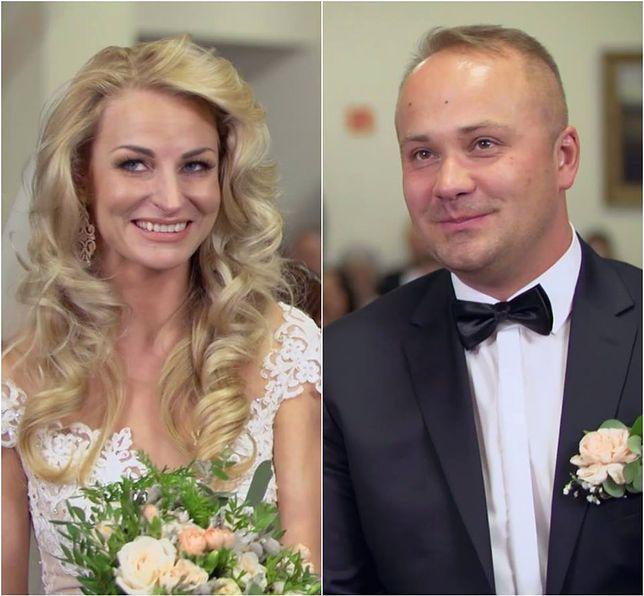 """Anita i Adrian ze """"Ślubu od pierwszego wejrzenia"""" opuszczają szpital. Po ciążowym brzuszku nie ma śladu"""