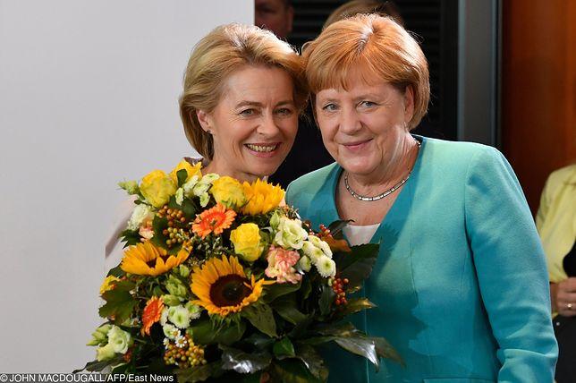 Ursula von der Leyen i Angela Merkel rozmawiały z Mateuszem Morawieckim przed wtorkowym głosowaniem
