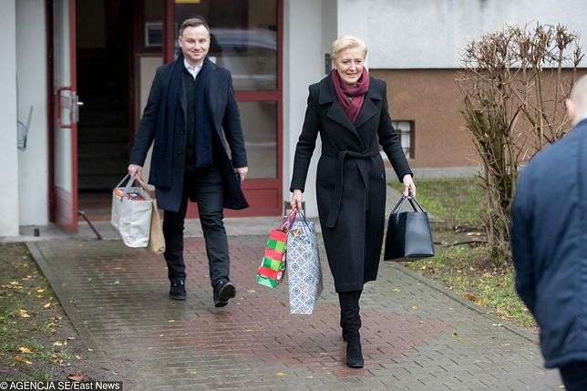 Para prezydencka wyrusza z Krakowa do Wisły na Święta