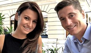 Robert i Anna Lewandowscy wyglądają na szczęśliwą, kochającą się parę.
