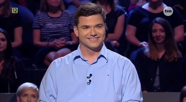 Milionerzy - Dominik Komorek usłyszał pytanie za milion złotych. Gdyby zaznaczył odpowiedź, byłby milionerem
