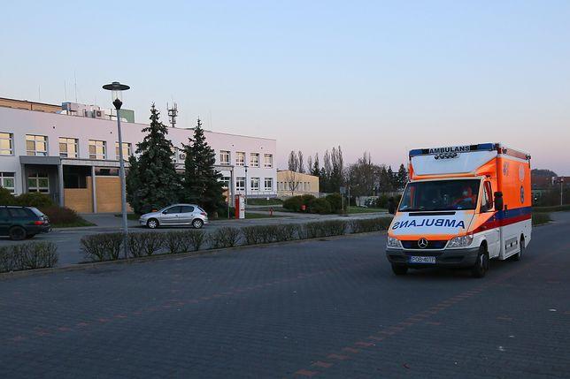 Sosnowiec. Roczne dziecko wypadło z okna w dzielnicy Pogoń
