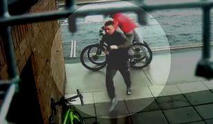 Próba kradzieży roweru w Clontarf w Irlandii.