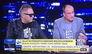 Muniek Staszczyk skrytykowany za to, jak zachowywał się w programie Olejnik