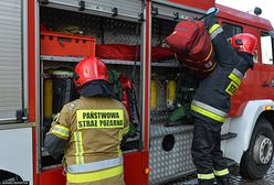 Dramat w Łososinie Dolnej. Strażacy znaleźli ciało