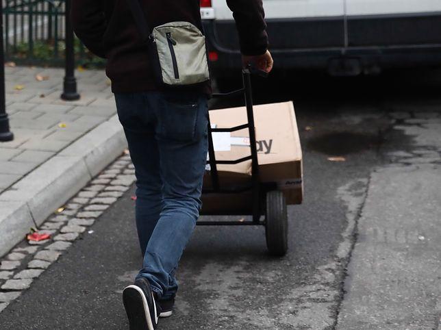Praktykant odjechał z towarem (Photo by Jakub Porzycki/NurPhoto via Getty Images)