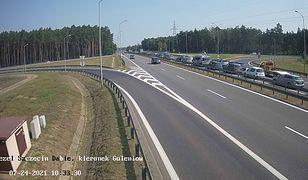 Szczecin. Wypadek na A6 w kierunku Świnoujścia