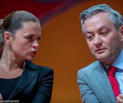 Barbara Nowacka wystosowała apel do Roberta Biedronia i jego zwolenników