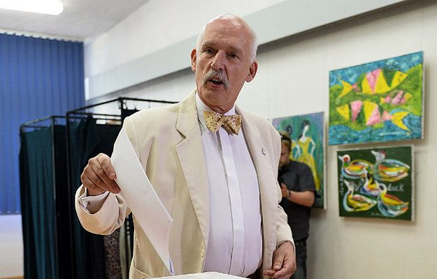 Janusz Korwin-Mikke zaprasza Magdalenę Ogórek do swej partii