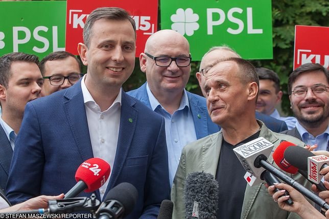 Władysław Kosiniak-Kamysz i Paweł Kukiz.