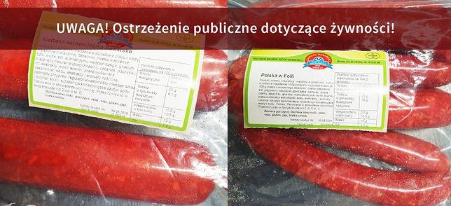 GIS ostrzega. Wykryto groźną bakterię w produktach mięsnych