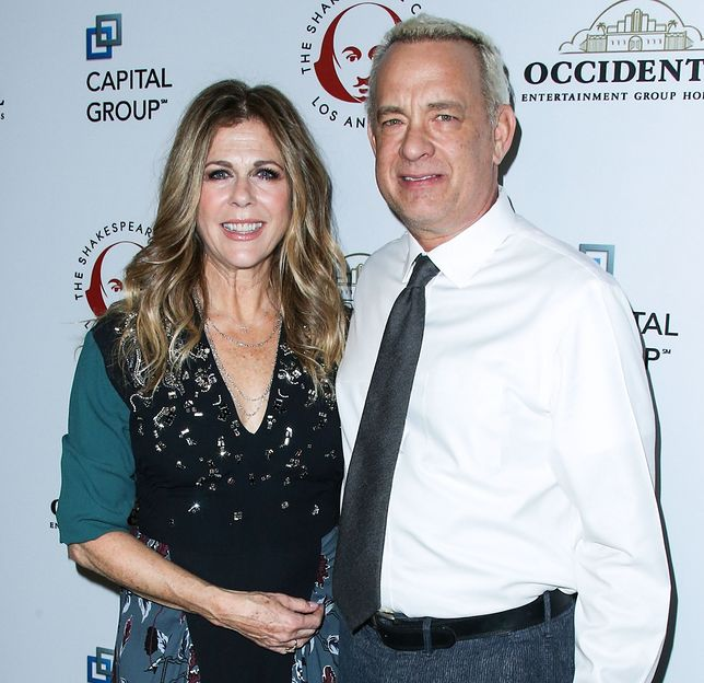Rita Wilson i Tom Hanks mieli koronawirusa