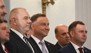 Uroczystość wręczenia nominacji nowym ministrom w Pałacu Prezydenckim.